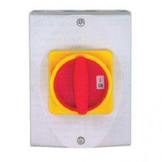 32 amp Rotary Isolator Insulated Weatherproof - IP65 4 Pole Switched