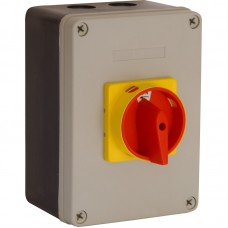 63 Amp Rotary Isolator Insulated Weatherproof - IP65 4 Pole Switched